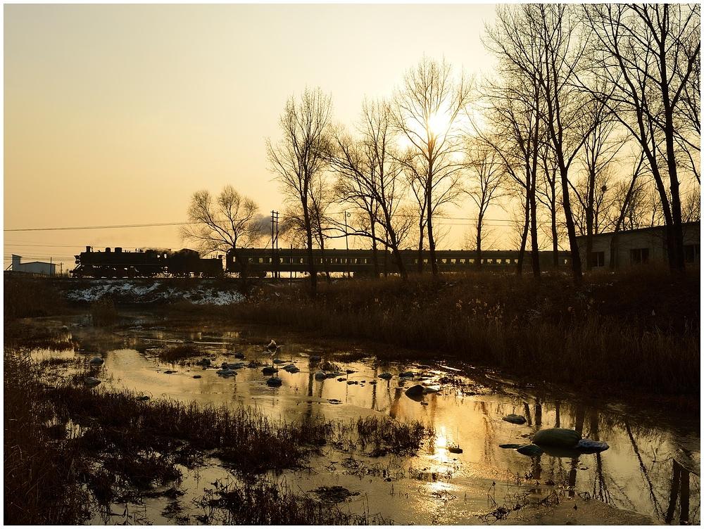 Novemberdampf in Nordchina - Tiefa XXXII