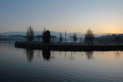 Novembermorgen am See