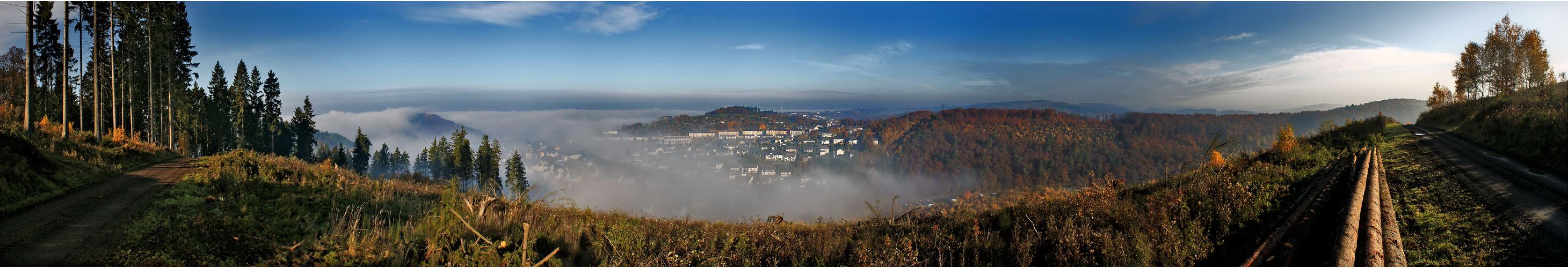 Novembermorgen im Siegerland