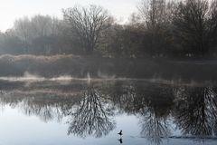 Novembermorgen mit schwungvollem Durchlauf