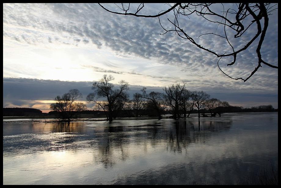 Novembernachmittag am Fluß