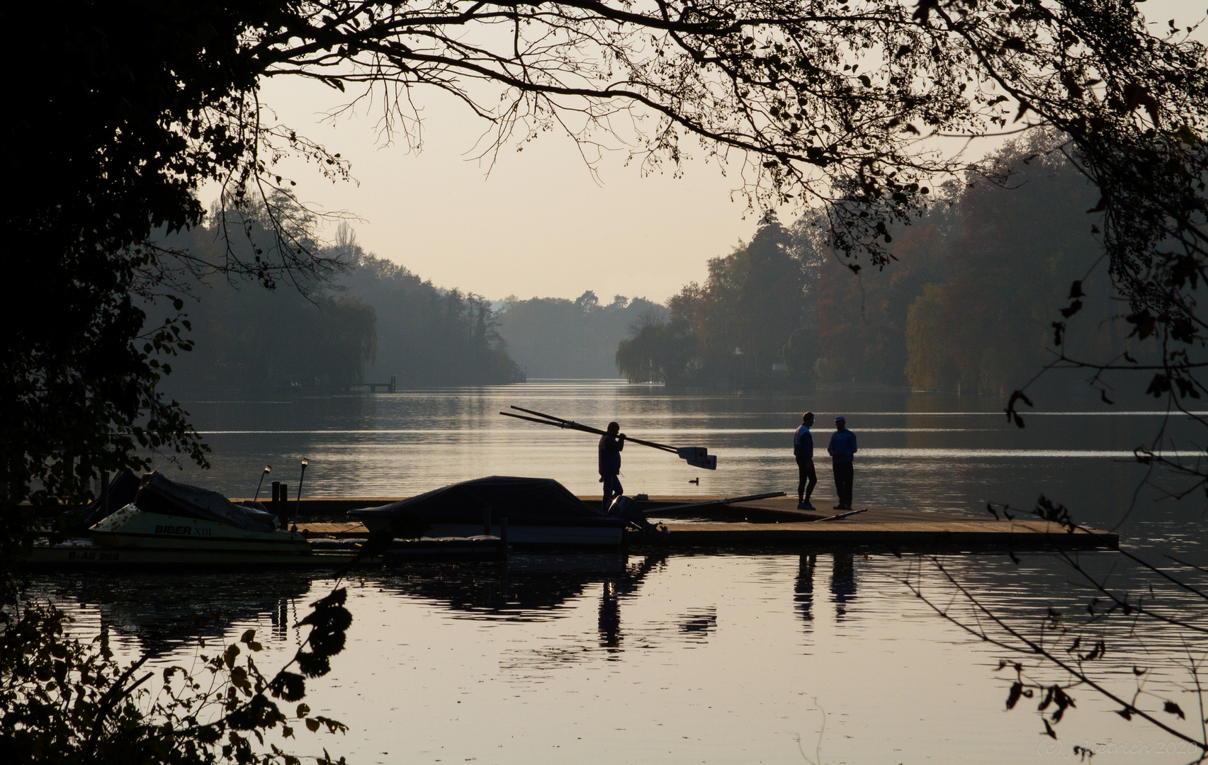 Novembernachmittag am Kleinen Wannsee (1)
