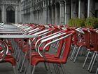Novembersonntag auf dem Markusplatz in Venedig