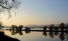 Novemberstimmung am Rhein