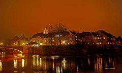 Novemberstimmung über Laufenburg
