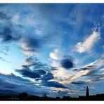 Novembre e il suo cielo.