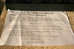 Novene zum Hl. Judas Thaddäus