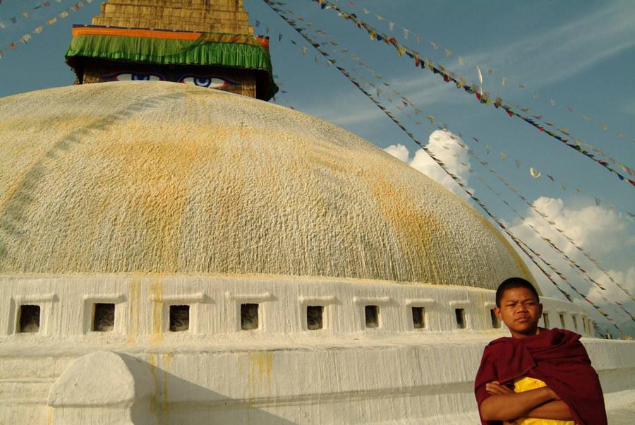 Novize in Kathmandu