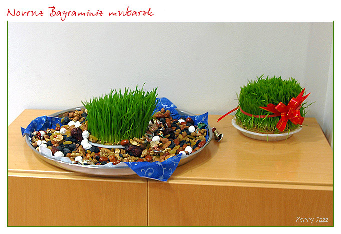 Novruz present for outside friends