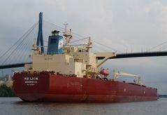 NS Lion - Tanker unter der KBB