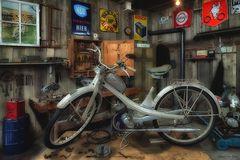 NSU Moped Werkstatt