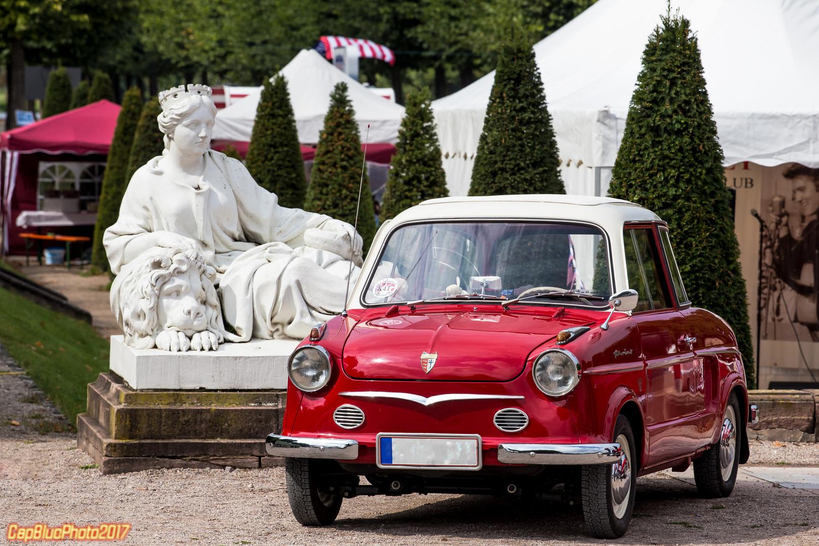 NSU Prinz 30 D 1960 bei Classic Cars Schwetzingen 2017