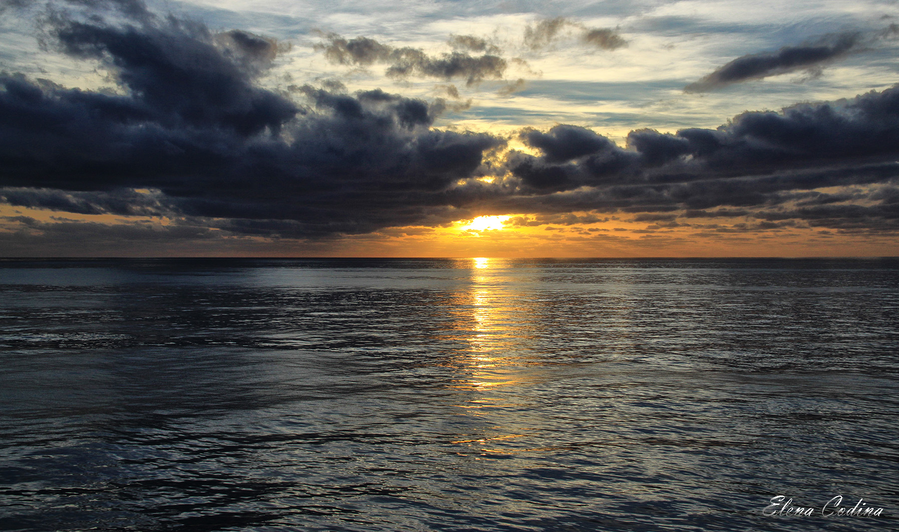 Nubes Sol y Agua