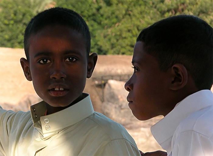 Nubische Brüder - Ägypten 20