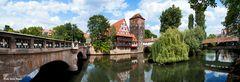 Nürnberg Blick auf das Henkerhaus