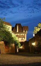 Nürnberg - Die Burg bei Nacht