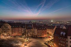 Nürnberg früh am Morgen