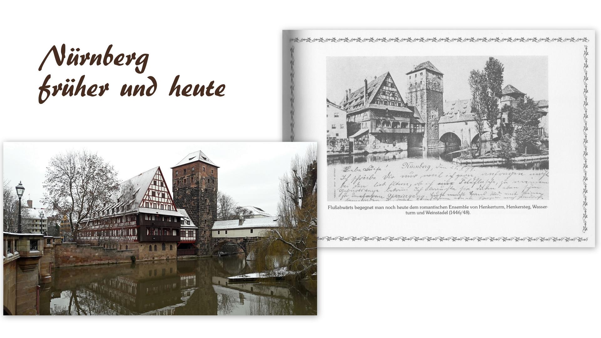Nürnberg früher und heute