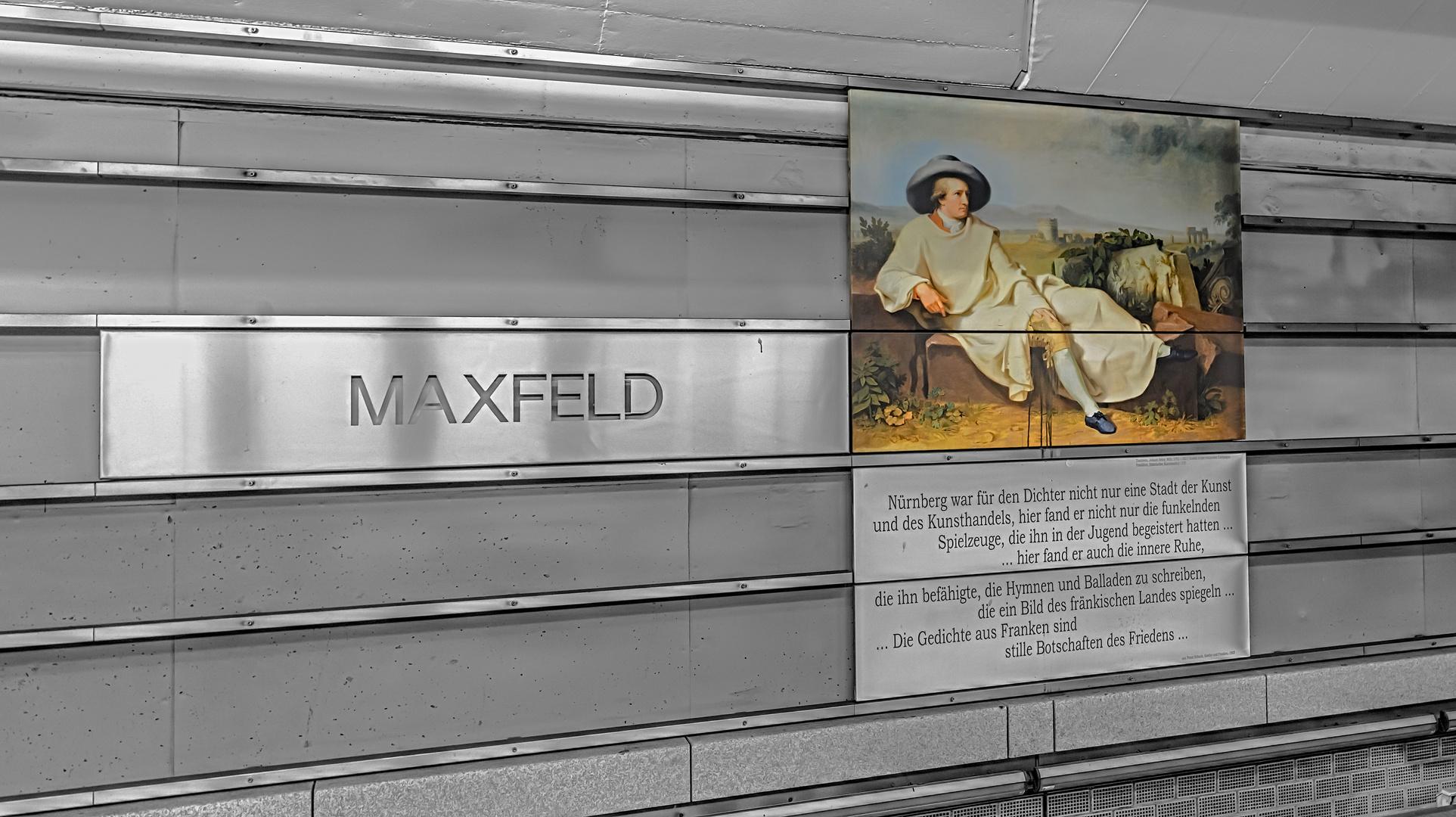 Nürnberg, Linie U3, Station 'Maxfeld'