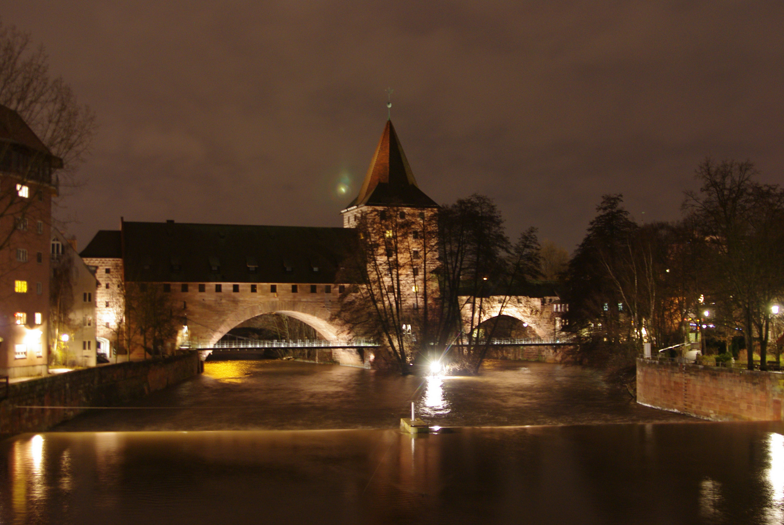 Nürnberger Altstadt bei Nacht