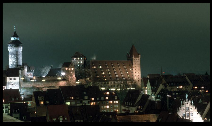 Nürnberger Burg vom Sebaldusturm