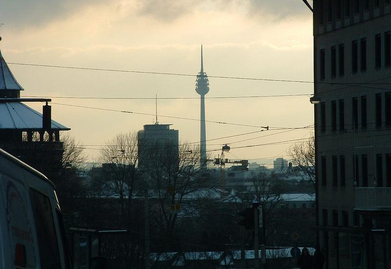 Nürnberger Fernmeldeturm 300m