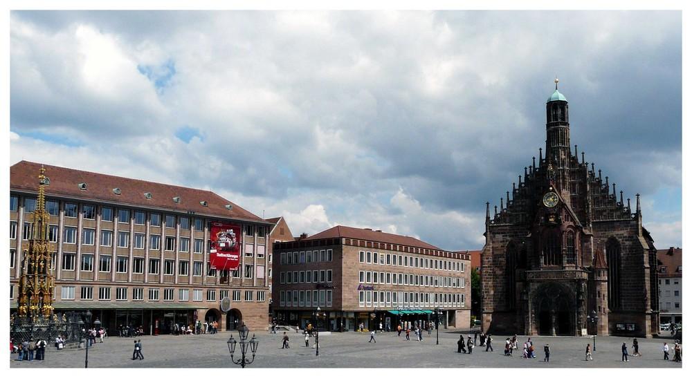 Nürnberger Marktplatz