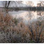 Nuestro lago esta mañana (unser See heute Morgen)