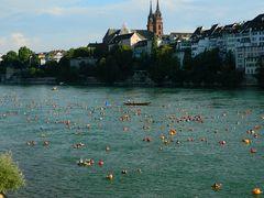 Nuotare nel Reno