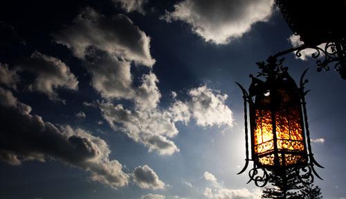 Nuovole e luce