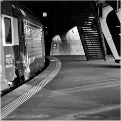 nur Bahnhof