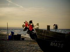 Nur die Fischerboote sind übrig