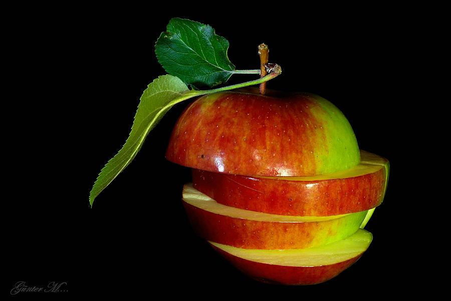 nur ein Apfel