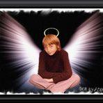 Nur ein echter Engel hat solch einen Blick