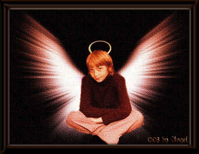 Nur ein echter Engel hat solch einen Blick II  (c) by Angel of Destruction