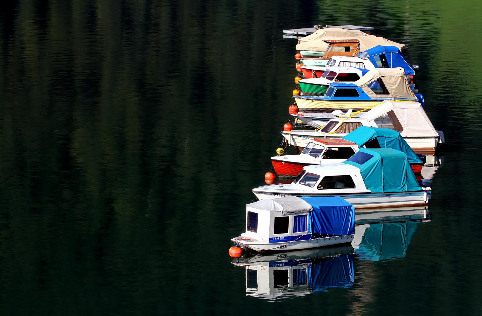 Nur ein paar Boote...