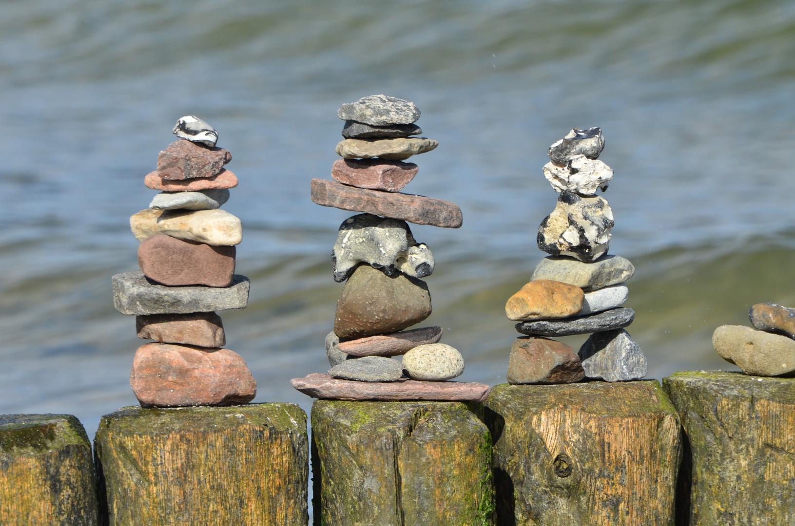 Nur ein paar Steine