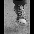 Nur ein Schuh...