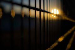 Nur ein Zaun