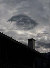 Nur eine Wolke ...
