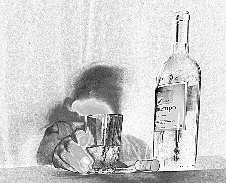 nur einen Schluck ( hicks ) trink ich auf Dich !