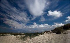 nur Himmel, Wolken, Weite