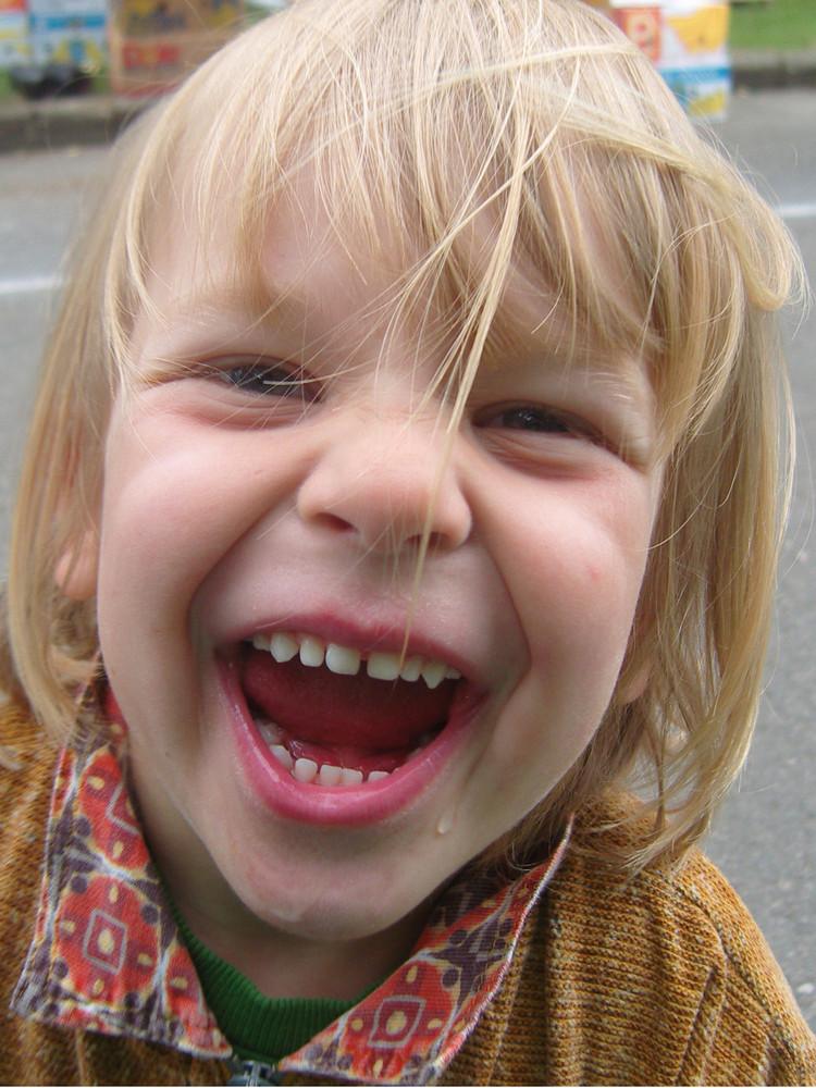 nur kinder können so lachen.....