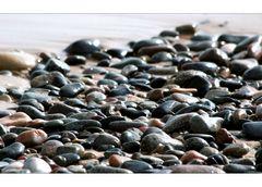 nur Steine am Meer