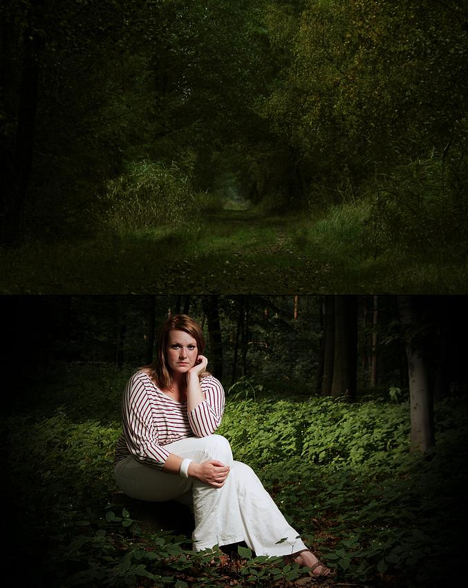 Nur wer den Weg bis ans Ende geht, wird Lana der Königin des Waldes in seinem Herzen begegnen