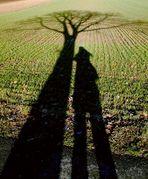 nur zwei Schatten