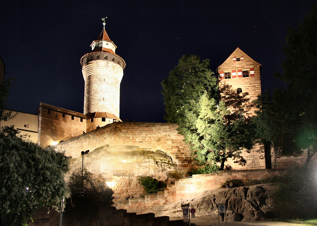 Nuremberg at night #2