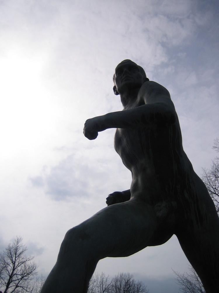 Nurmi-Statue, Helsinki