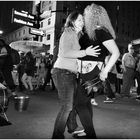 Nuts and Nightlife on Fashion Ave - A New York Moment