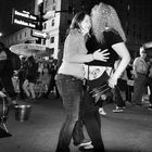 Nuts and Nightlife on Fashion Avenue - A New York Moment